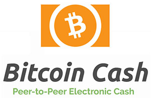 Bitcoin Cash logo cryptocurrency